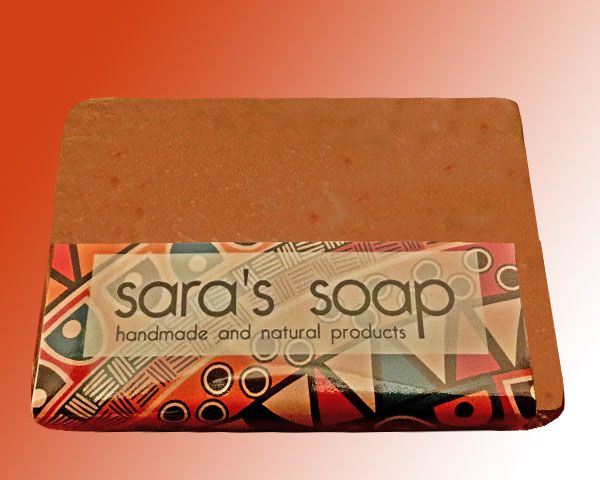 Lemongrass & Peppermint, handgemachte Seife, sara's soap