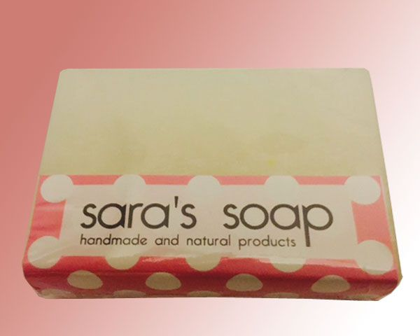 Baby Powder, handgemachte Seife, sara's soap