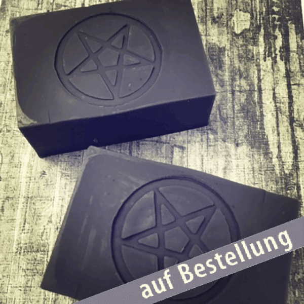 Black Metal Soap, sara's soap