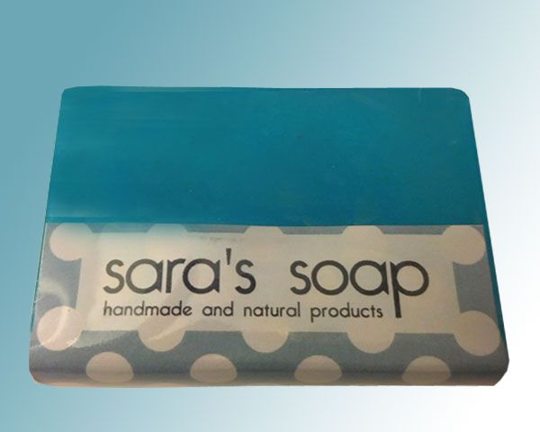Fresh Cotton, handgemachte Seife, sara's soap