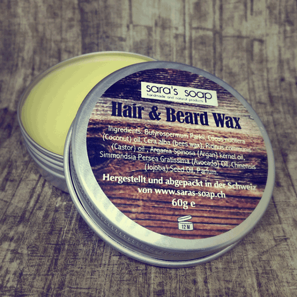 Hair & Beard Wax, sara's soap