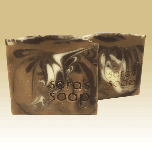 Jamaican Cafe and Walnut, handgemachte Seife, sara's soap