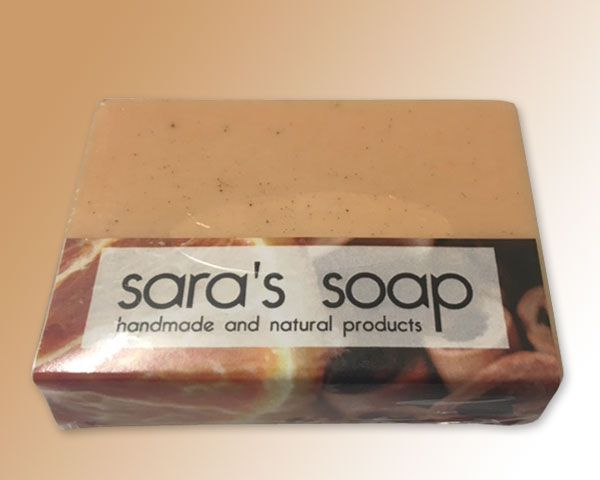 Orange & Cinnamon, handgemachte Seife, sara's soap