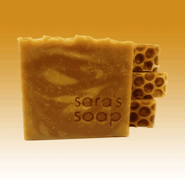 Spicy Honey, handgemachte Seife, sara's soap